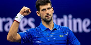 NOVAK DJOKOVIC (SRB)  TENNIS - THE US OPEN - USTA BILLIE JEAN KING TENNIS CENTRE - FLUSHING MEADOWS - NEW YORK CITY - NEW YORK - USA - ATP - WTA - ITF - GRAND SLAM - OPEN - NEW YORK - USA - 2019      © TENNIS PHOTO NETWORK