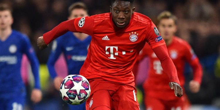 Bayern Munich's Alphonso Davies was clocked at 36.51 km/h in the first half against Werder Bremen on Tuesday, according to the Bundesliga. That's the fastest recorded speed in league history since detailed data collection began in 2011.