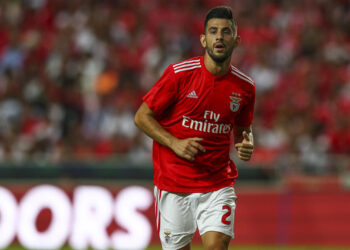 LISBON, PORTUGAL - AUGUST 07: Pizzi of SL Benfica during the match between SL Benfica and Fenerbache SK for UEFA Champions League Qualifier at Estadio da Luz on August 7, 2018 in Lisbon, Portugal. (Photo by Carlos Rodrigues/Getty Images)