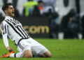 "Juventus' Spanish forward Alvaro Morata celebrates after scoring during the Italian Serie A  football match Juventus Vs Inter Milan on February 28, 2016 at the ""Juventus Stadium"" in Turin.    / AFP / MARCO BERTORELLO        (Photo credit should read MARCO BERTORELLO/AFP/Getty Images)"