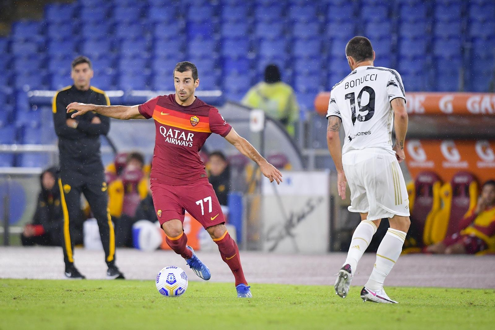 Roma 2-2 Juventus обзор