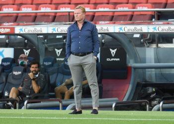 BARCELONA, 19-09-2020. Joan Gamper Troph. FC Barcelona - Elche CF.FC Barcelona head coach Ronald Koeman