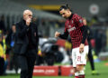 Db Milano 13/02/2020 - Coppa Italia / Milan-Juventus / foto Daniele Buffa/Image nella foto: Stefano Pioli-Zlatan Ibrahimovic PUBLICATIONxNOTxINxITA