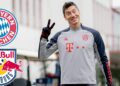 "In this handout picture released on November 24, 2020 by FC Bayern Munich, Bayern Munich's Polish forward Robert Lewandowski attends a training session on the eve of the UEFA Champions League match Bayern Munich v Salzburg in Munich, southern Germany. (Photo by Marco Donato / various sources / AFP) / RESTRICTED TO EDITORIAL USE - MANDATORY CREDIT ""AFP PHOTO /FC BAYERN MUNICH "" - NO MARKETING - NO ADVERTISING CAMPAIGNS - DISTRIBUTED AS A SERVICE TO CLIENTS"