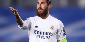 Madrid Spagna 03/11/2020 - Champions League / Real Madrid-Inter / foto Image nella foto: Sergio Ramos PUBLICATIONxNOTxINxITA