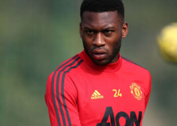 MALAGA, SPAIN - FEBRUARY 13: (EXCLUSIVE COVERAGE) Timothy Fosu-Mensah of Manchester United in action during a first team training session on February 13, 2020 in Malaga, Spain. (Photo by Matthew Peters/Manchester United via Getty Images)