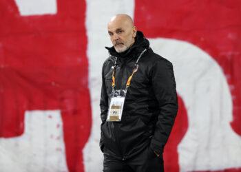 Fudbal-Uefa League Season 2020/2021 Crvena Zvezda v AC MilanBeograd, 19.02.2021. foto: Srdjan StevanovicStarsportphoto ©