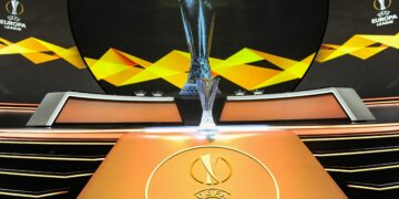 Le Trophee FOOTBALL : UEFA Draw - Europa League - Monaco - 30/08/2019 NorbertScanella/PanoramiC.