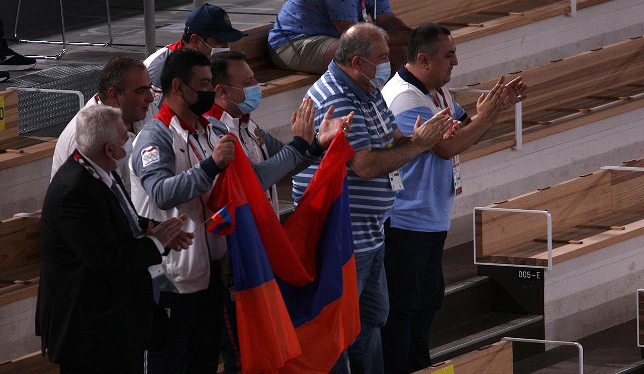 Հուսով եմ՝ Արթուրը հայրենիք կվերադառնա մեդալով. ՀՀ նախագահ Արմեն Սարգսյանը տպավորված է Դավթյանի ելույթով