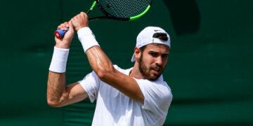KAREN KHACHANOV (RUS)  TENNIS - THE CHAMPIONSHIPS -WIMBLEDON - ALL ENGLAND LAWN TENNIS AND CROQUET CLUB - ATP - WTA - ITF - WIMBLEDON - SW19 - LONDON - GREAT  BRITAIN - 2019    © TENNIS PHOTO NETWORK