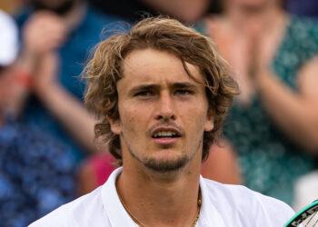 ALEXANDER ZVEREV (GER)  TENNIS - THE CHAMPIONSHIPS - WIMBLEDON - ALL ENGLAND LAWN TENNIS AND CROQUET CLUB - ATP - WTA - ITF - WIMBLEDON - SW19 - LONDON - GREAT  BRITAIN - 2021    © TENNIS PHOTO NETWORK