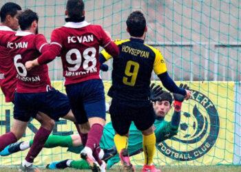 "HH futboli XXVIII arajnutyun ""Alashkert"" Yerevan(Black-Yellow) vs ""Van"" Charentsavan 2-1 11-30-2020"