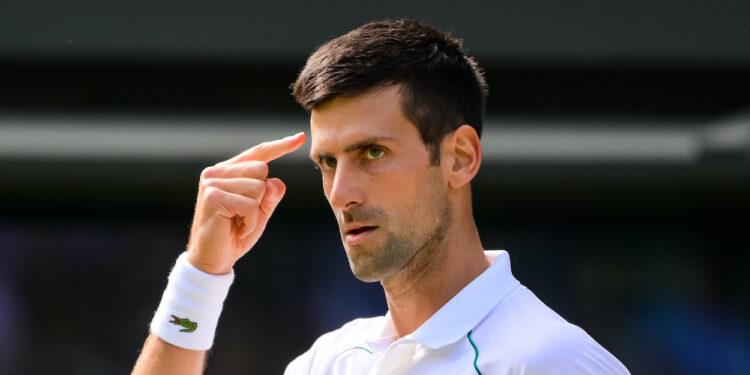 NOVAK DJOKOVIC (SRB) TENNIS - THE CHAMPIONSHIPS - WIMBLEDON - ALL ENGLAND LAWN TENNIS AND CROQUET CLUB - ATP - WTA - ITF - WIMBLEDON - SW19 - LONDON - GREAT  BRITAIN - 2021    © TENNIS PHOTO NETWORK